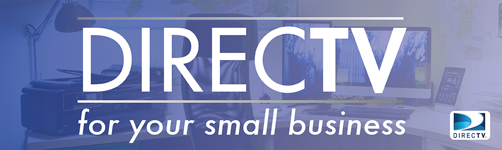 directv for small business banner